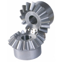 Bevel gear, module 4, 20:20 (set)