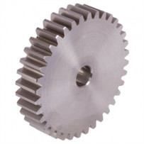 Spur gear, module 1, number of teeth 100